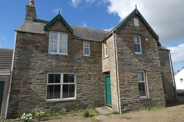 Thumbnail Semi-detached house for sale in Halkirk
