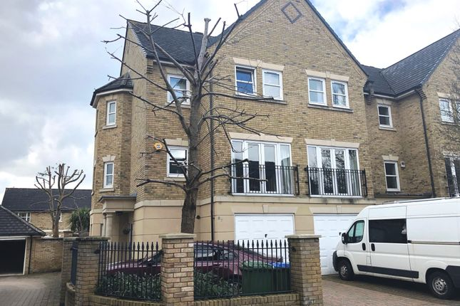 Thumbnail Town house for sale in Marshall Square, Banister Park, Southampton