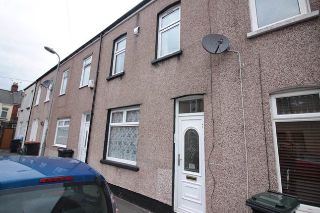 Thumbnail Terraced house to rent in Mansel Street, Newport, Gwent