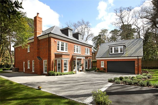 Thumbnail Detached house for sale in Monks Walk, Ascot, Berkshire