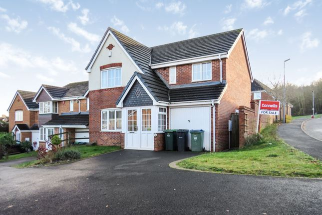 Thumbnail Detached house for sale in Hodges Drive, Tividale, Oldbury