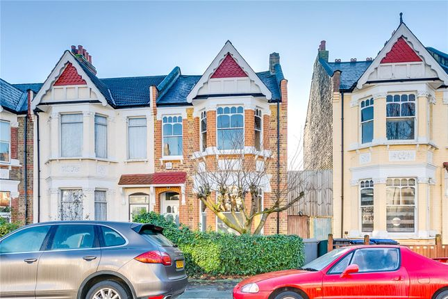 Thumbnail End terrace house for sale in Keslake Road, London