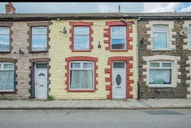 Thumbnail Terraced house to rent in Llewellyn Street, Pontygwaith, Ferndale