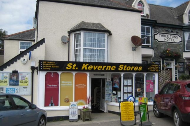 Thumbnail Retail premises for sale in The Square, St. Keverne, Helston