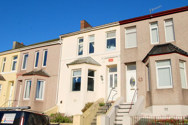 Thumbnail Terraced house for sale in Chudleigh Road, Plymouth