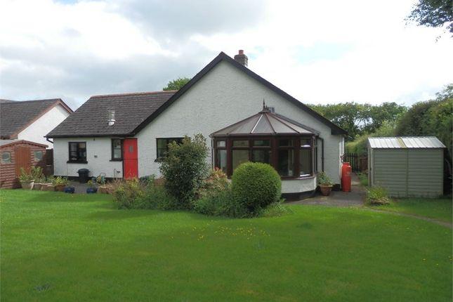 Thumbnail Detached bungalow for sale in Awel Y Mynydd, Maesymeillion, Llandysul
