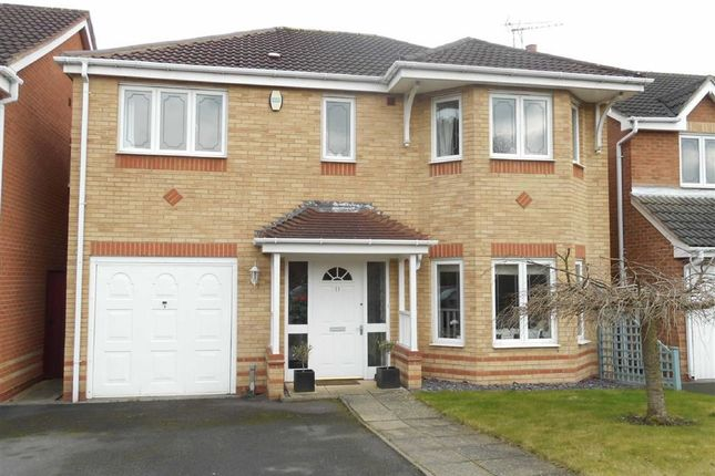 Thumbnail Detached house to rent in Old Station Close, Etwall, Derbyshire