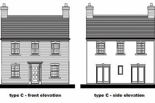 Thumbnail Detached house for sale in Burnthall, Court Street, Madeley, Telford