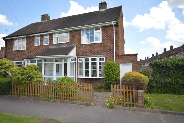 3 bed semi-detached house for sale in Redlands Close, Solihull