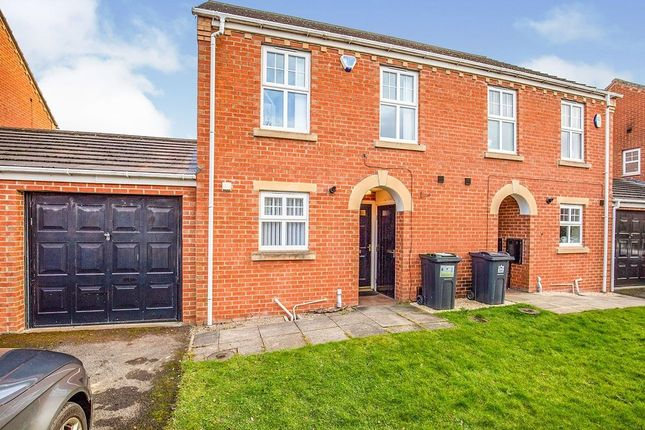 Thumbnail Semi-detached house to rent in Moorfield Close, Darlington