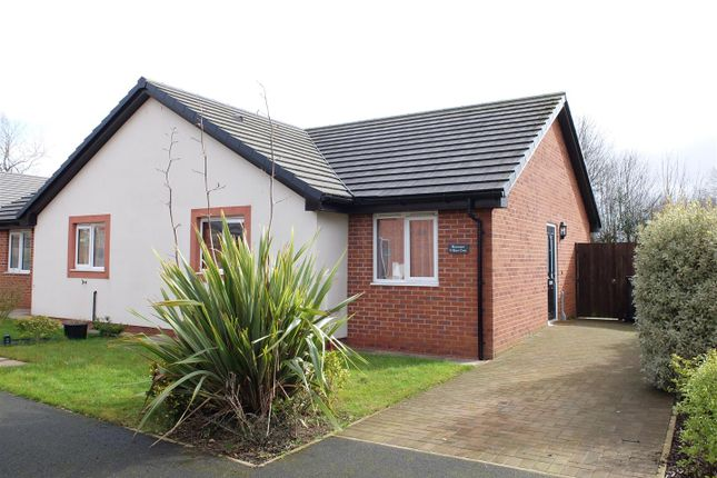 Thumbnail Semi-detached bungalow for sale in Beech Close, Longtown, Carlisle