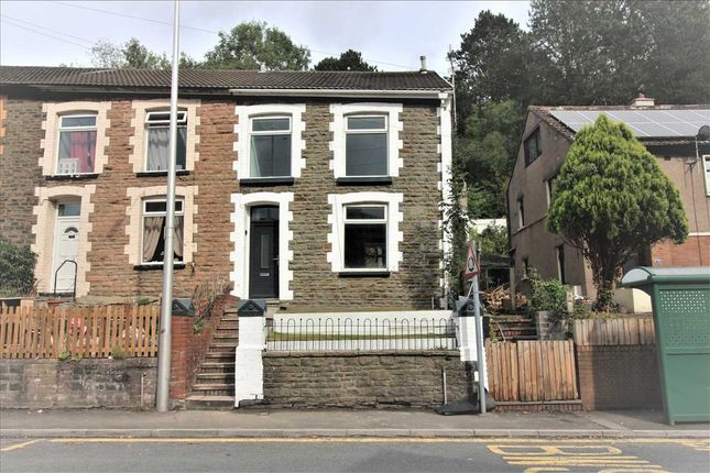 Thumbnail End terrace house for sale in Partridge Road, Llwynypia, Tonypandy