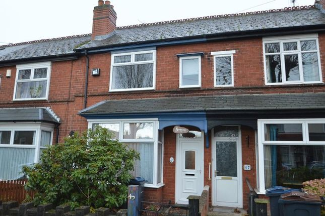 Thumbnail Terraced house to rent in 45 Beechwood Road, Kings Heath