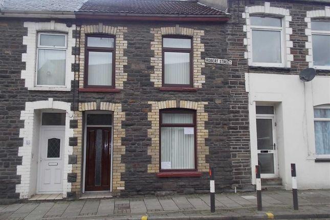 Thumbnail Terraced house to rent in Robert Street, Ynysybwl, Pontypridd