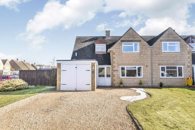Thumbnail Semi-detached house for sale in Meon Road, Mickleton, Chipping Campden, Gloucestershire