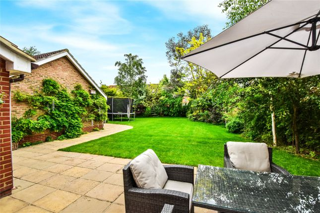Rear Patio of Stone Lodge, 2 The Paddock, Dartford, Kent DA2