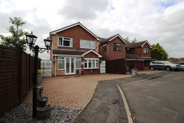 Thumbnail Detached house for sale in Milner Close, Bulkington, Bedworth