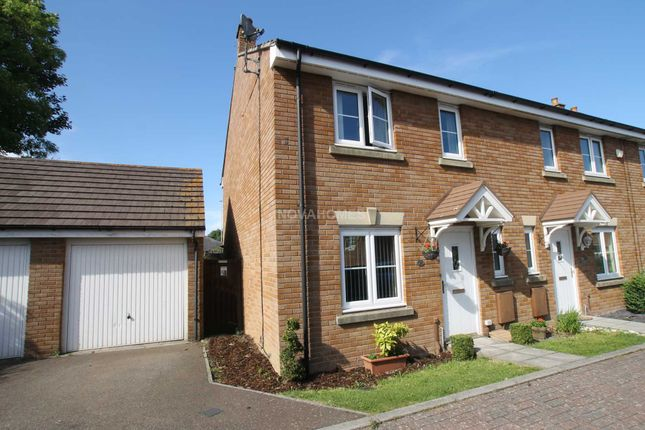 Thumbnail End terrace house for sale in Carew Gardens, Honicknowle