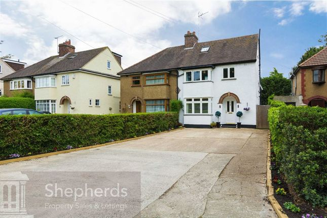 Thumbnail Semi-detached house for sale in Ware Road, Hoddesdon, Hertfordshire