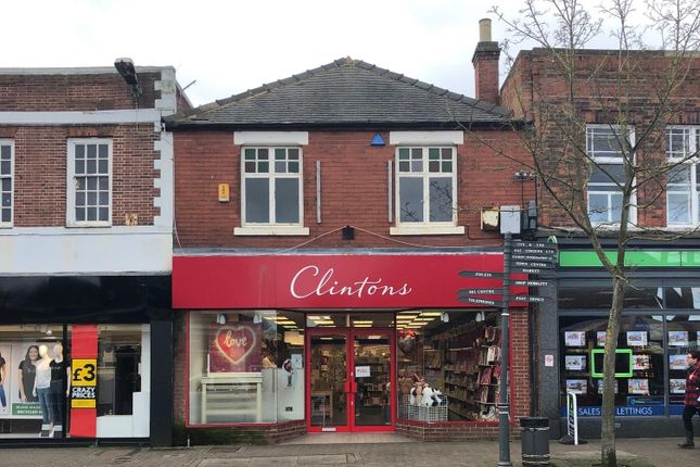 Thumbnail Retail premises to let in Former Clintons Cards, 44, High Street, Swadlincote, Derbyshire