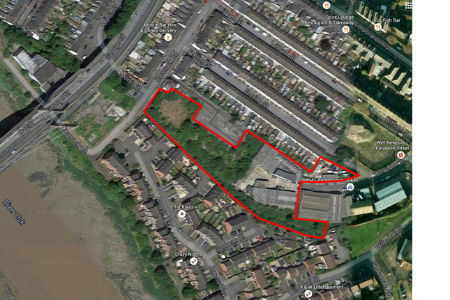 Thumbnail Land for sale in Kelvedon Street, Newport