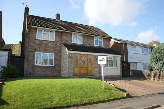 Thumbnail Detached house to rent in Burns Close, Headless Cross, Redditch