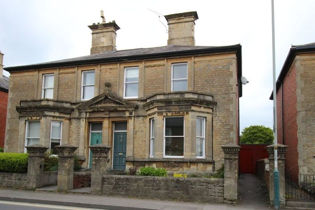 Thumbnail Semi-detached house for sale in Marshfield Road, Chippenham