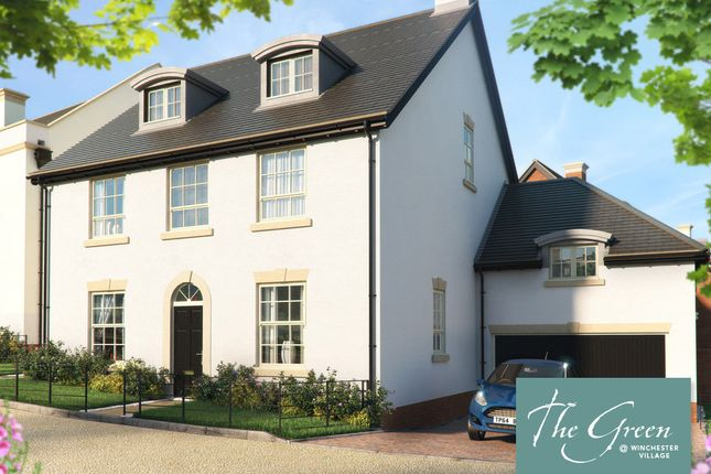 "Thumbnail Detached house for sale in ""The Elliot @ The Green"" at Pitt Road, Winchester"