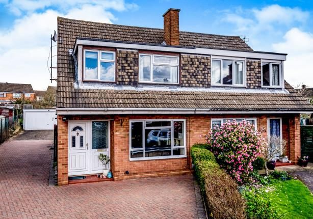 Thumbnail Semi-detached house for sale in Quantock Close, Bedford, Bedfordshire