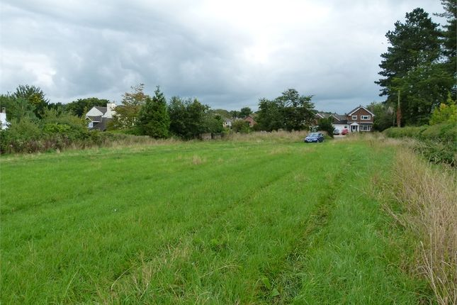 Thumbnail Land for sale in Padgbury Lane, Congleton, Cheshire