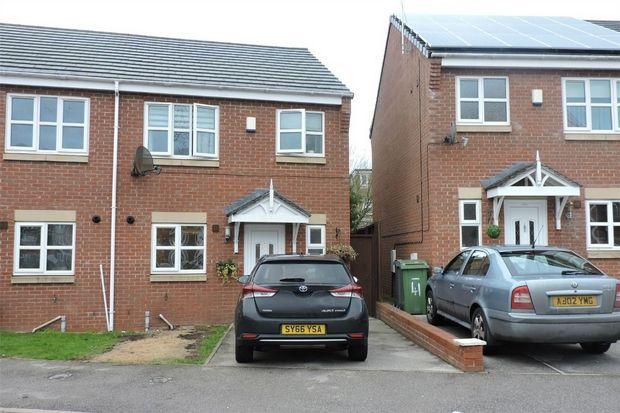 Thumbnail Semi-detached house to rent in Christleton Close, Prenton, Merseyside