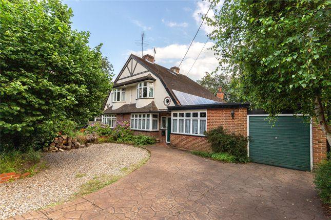 Thumbnail Semi-detached house for sale in Woodlands Avenue, Wokingham, Berkshire