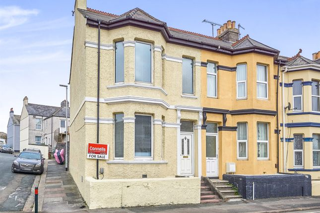 Thumbnail End terrace house for sale in Laira Bridge Road, Plymouth