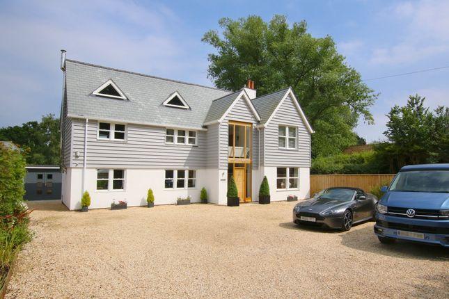 Thumbnail Detached house for sale in Lower Pennington Lane, Lymington, Hampshire