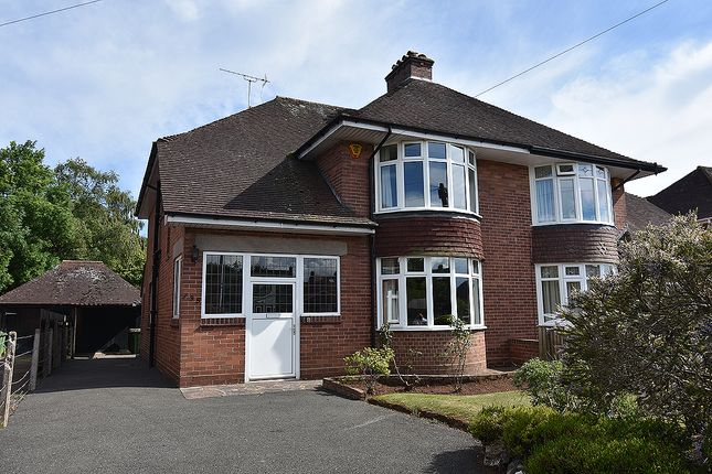 Semi-detached house for sale in Pinhoe Road, Exeter