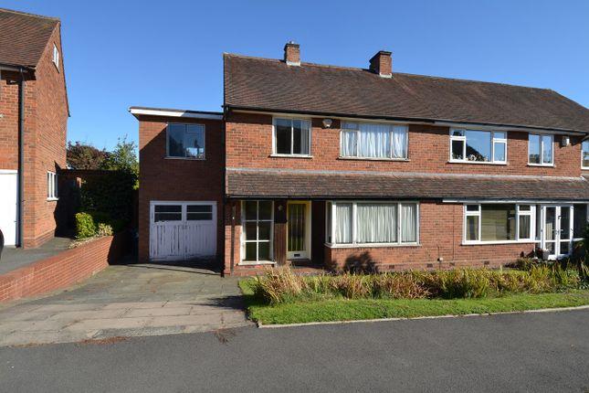 Thumbnail Semi-detached house for sale in Mimosa Close, Bournville Village Trust, Birmingham