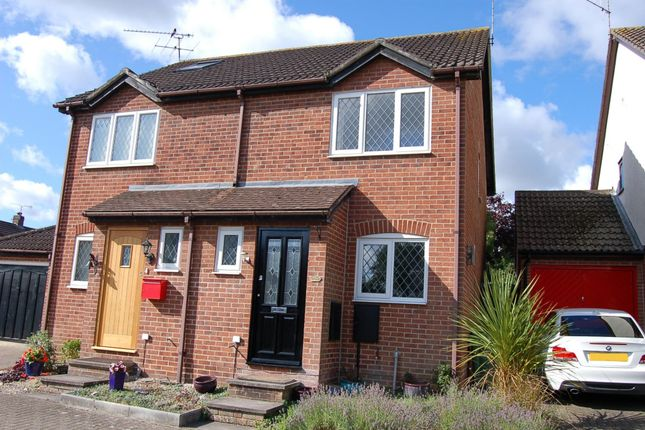 2 bed semi-detached house to rent in Hawkesworth Drive, Bagshot GU19