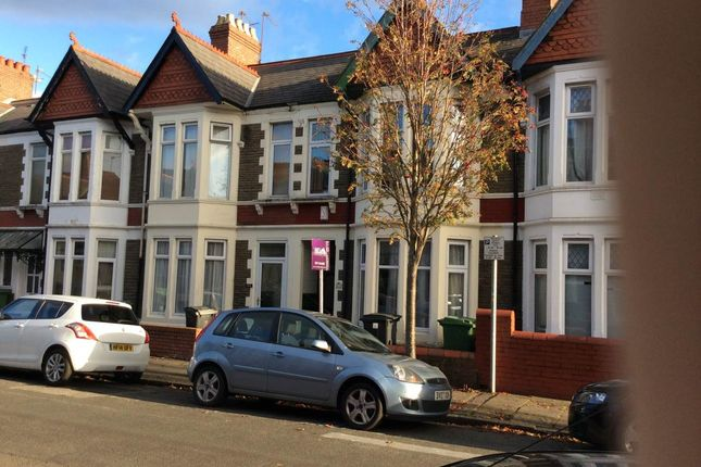 Thumbnail Property to rent in Newfoundland Road, Gabalfa, Cardiff