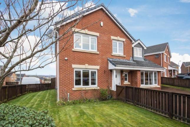 Thumbnail Detached house for sale in Hillman Crescent, Paisley, Renfrewshire