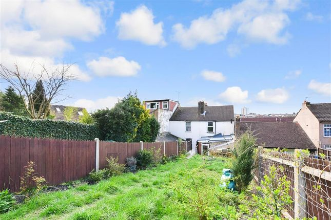Rear Garden of Constitution Road, Chatham, Kent ME5