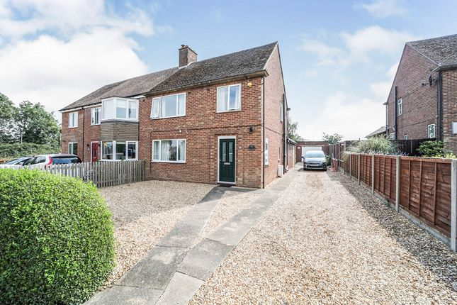 Thumbnail Semi-detached house for sale in School Lane, Coveney, Ely