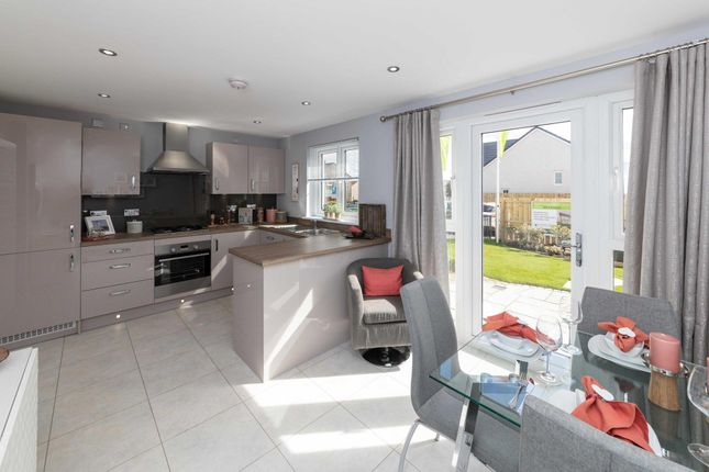 """Thumbnail Semi-detached house for sale in """"Traquair"""" at Greystone Road, Kemnay, Inverurie"""