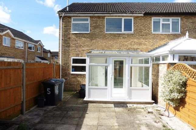 Thumbnail End terrace house to rent in Hawthorne Grove, Carterton, Oxon