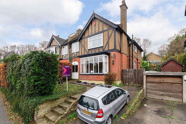 Thumbnail Semi-detached house for sale in Foxley Hill Road, Purley, Surrey