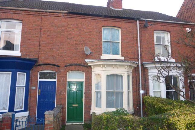 Thumbnail Terraced house to rent in Grove Lane, Retford