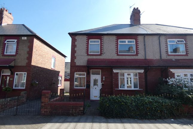 Thumbnail Semi-detached house for sale in Wansbeck Road, Jarrow