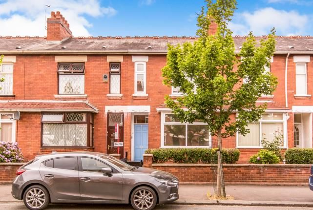 Thumbnail Terraced house for sale in Henrietta Street, Manchester, Greater Manchester