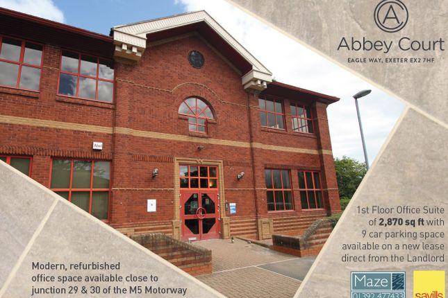 office space exeter. Thumbnail Office To Let In 8 Abbey Court, Eagle Way, Exeter Space E