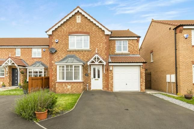 Thumbnail Detached house for sale in Cottingham Grove, Thornley, Co Durham