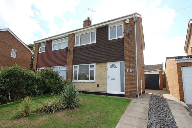Thumbnail Semi-detached house to rent in Cantley Manor Avenue, Bessacarr, Doncaster